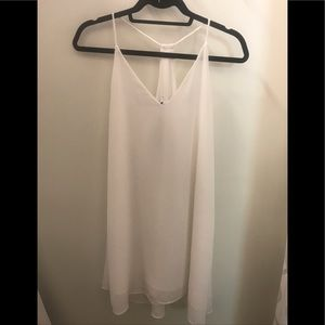 Three Eighty Two Ivory Dress